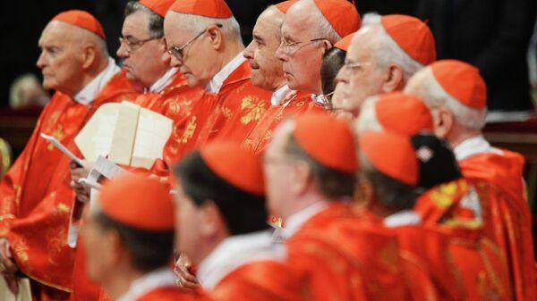 Торжественная месса Об избираемом Папе Римском