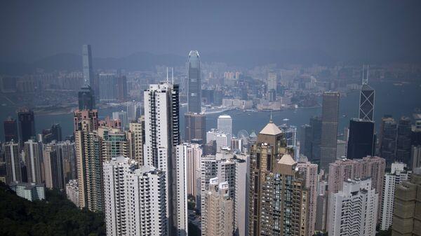 Вид на район Central в Гонконге. Архивное фото