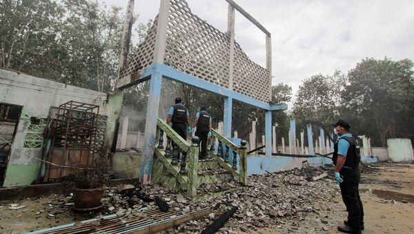 В провинции Паттани на юге Таиланда сепаратисты подожгли шесть школ