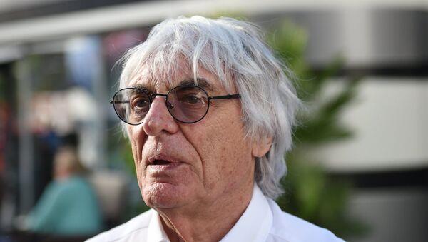 Генеральный промоутер Формулы-1 Берни Экклстоун. Архивное фото