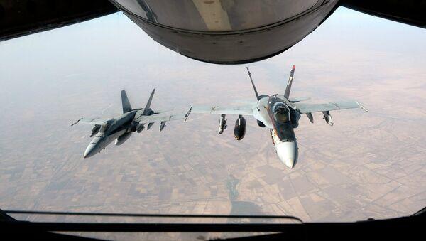 Истребители ВВС США над Ираком. Архивное фото