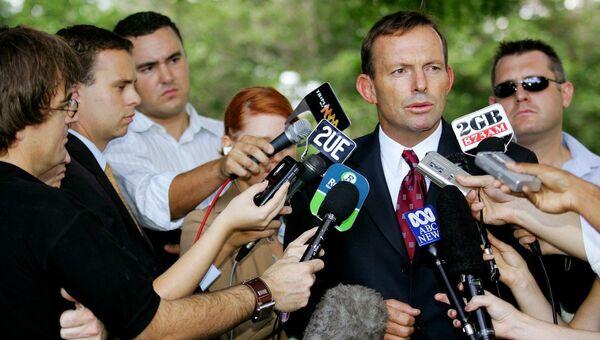 Премьер-министр Австралии Тони Эбботт. Архивное фото.