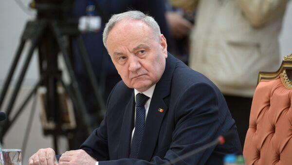 Президент Молдовы Николай Тимофти. Архивное фото