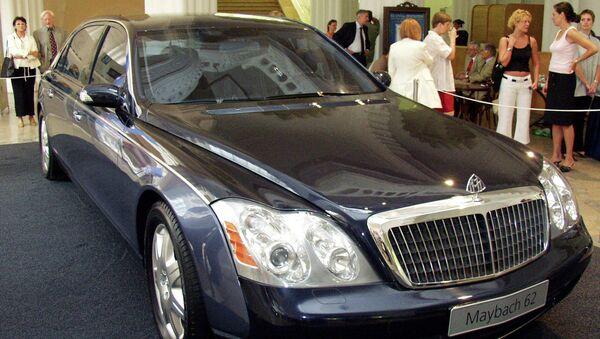 Автомобиль Maybach. Архивное фото