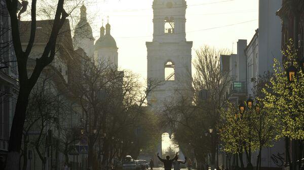 Города России. Астрахань. Архивное фото.