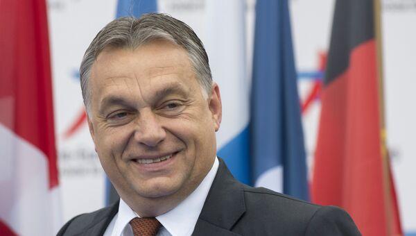Премьер-министр Венгрии Виктор Орбан, архивное фото