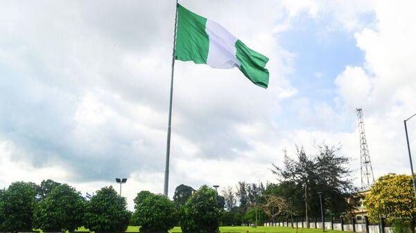 Флаг Нигерии. Архивное фото