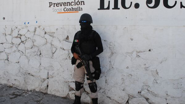 Полицейский в Мексике