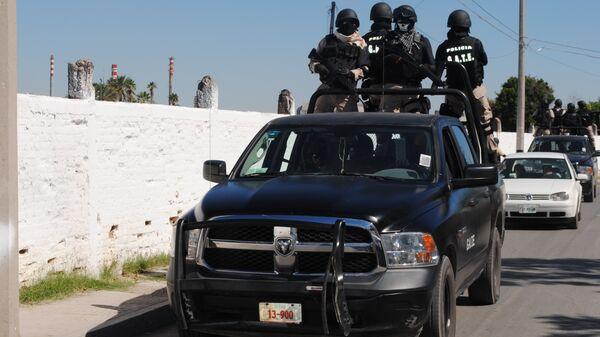 Спецназ мексиканской полиции