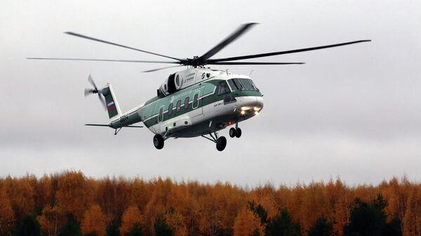 Предсерийный прототип Ми-38 производства Вертолетов России. Архивное фото