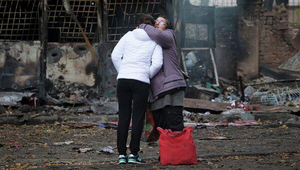 Жители Донецка. Архивное фото