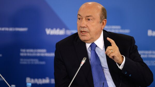 Бывший глава российского внешнеполитического ведомства Игорь Иванов. Архивное фото