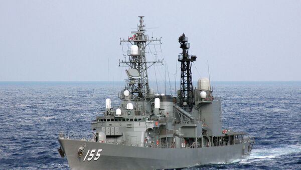 Эсминец Хамагири (DD-155) Морских сил самообороны Японии. Архивное фото