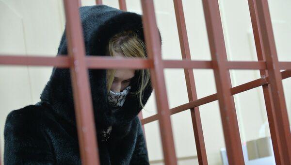 Диспетчер-стажер аэропорта Внуково Светлана Кривсун в суде. Архивное фото