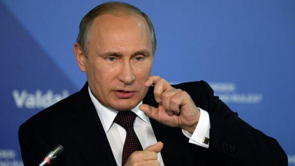 Владимир Путин принял участие в итоговой пленарной сессии XI заседания Международного дискуссионного клуба Валдай