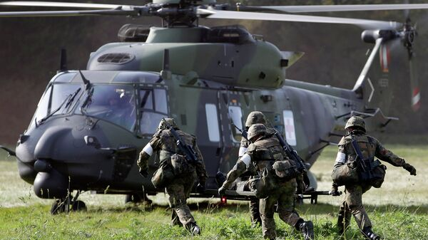 Вертолет NH90. Архивное фото