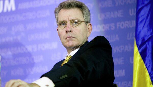 Посол США на Украине Джефри Пайетт. Архивное фото