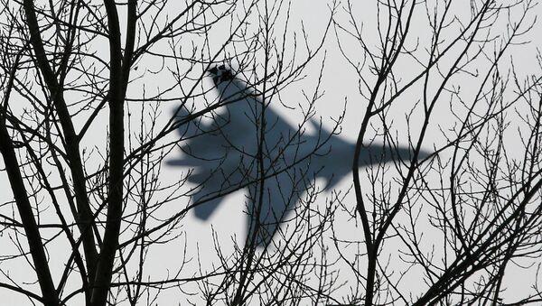 Пилотажная группа Соколы России на Су-30СМ