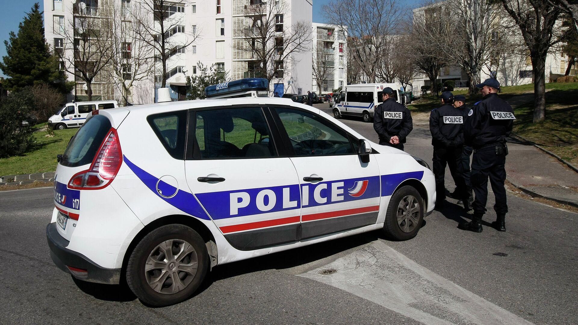 Полиция Франции - РИА Новости, 1920, 29.10.2020