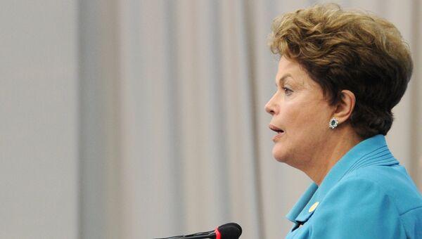 Президент Бразилии Дилма Роуссефф, архивное фото