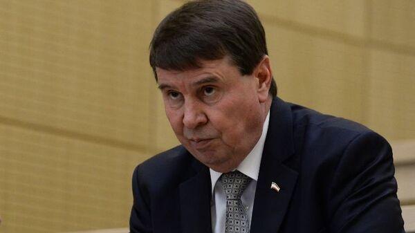 Сенатор от Заксобрания Крыма Сергей Цеков. Архивное фото