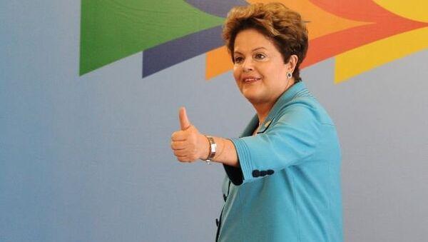 Президент Бразилии Дилма Роуссефф. Архив
