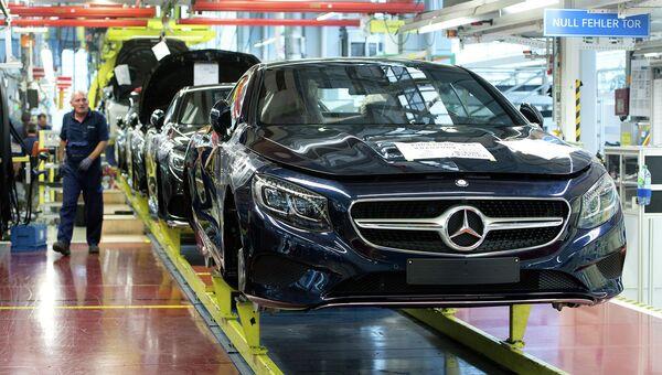 Производство автомобилей немецкой марки Mercedes-Benz