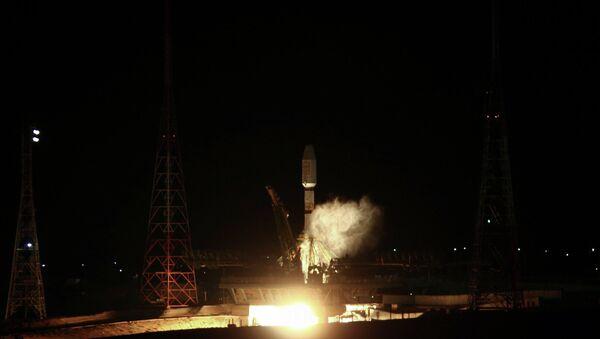 Пуск ракеты-носителя Союз-2-1А. Архивное фото