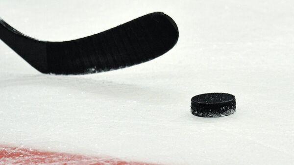 Хоккей на льду. Архивное фото