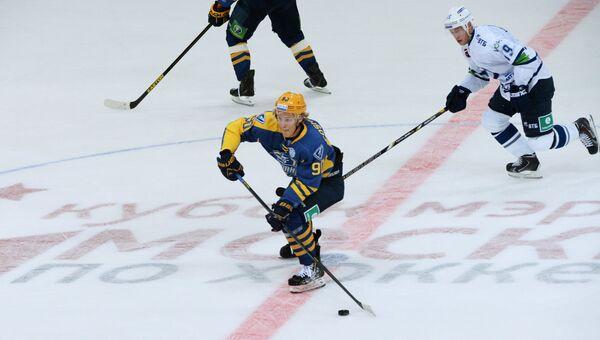 Игрок ХК Атлант Никита Сошников. Архивное фото