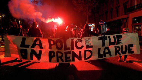 Массовые демонстрации во Франции из-за убийства эколога
