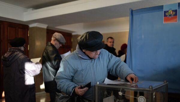 Выборы в ЛНР. Архивное фото