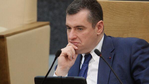 Леонид Слуцкий. Архивное фото
