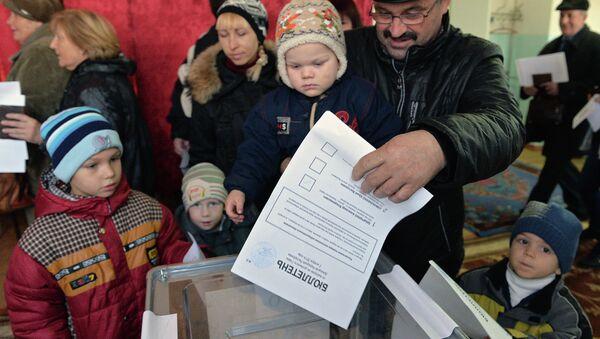 Выборы в ДНР. Архивное фото