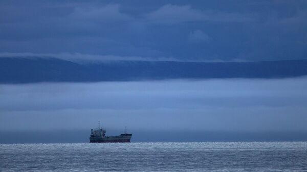Судно в море. Архивное фото