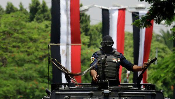 Египетский военный в Каире. Архивное фото