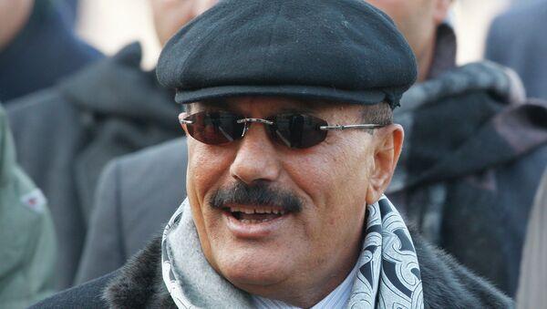 Экс-президент Йеменской Республики Али Абдалла Салех, архивное фото