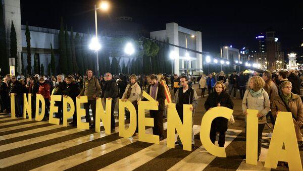 Митинг в поддержку независимости Каталонии. Архивное фото