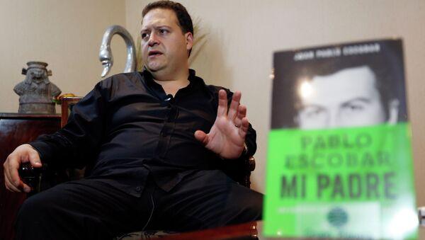 Сын знаменитого колумбийского наркобарона Пабло Эскобара издал книгу о своем отце