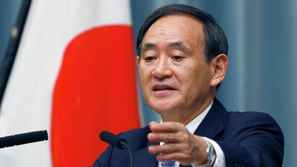 Генеральный секретарь правительства Японии Есихидэ Суга. Архивное фото