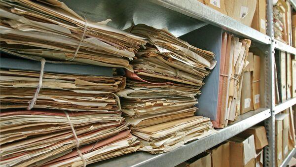 Документы в архиве бывшего Министерства государственной безопасности ГДР