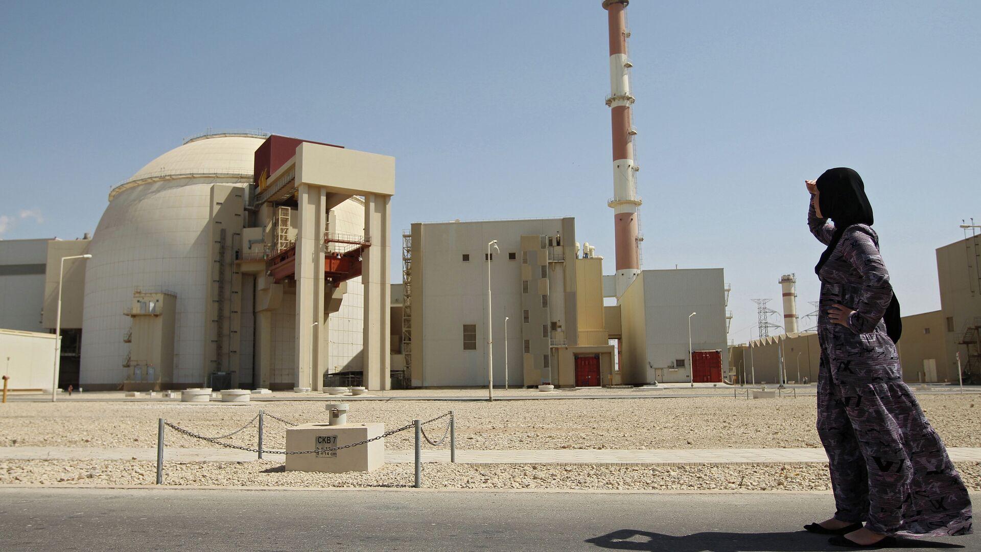 Первый энергоблок атомной электростанции Бушер в Иране - РИА Новости, 1920, 05.08.2021