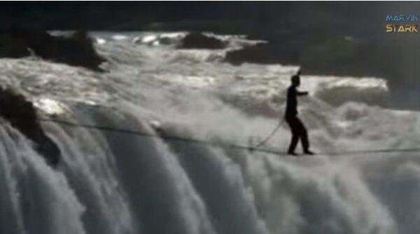 Воспарить над водопадом
