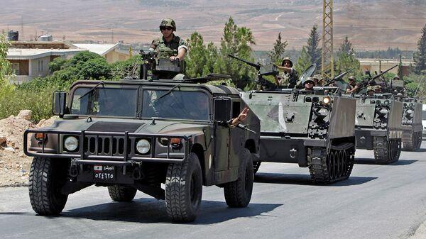 Солдаты ливанской армии. Архивное фото