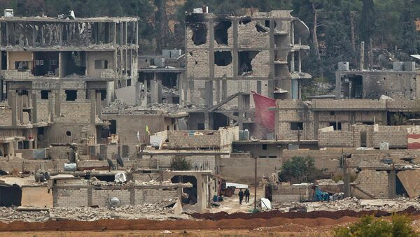 Предположительно курдские боевики. Архивное фото
