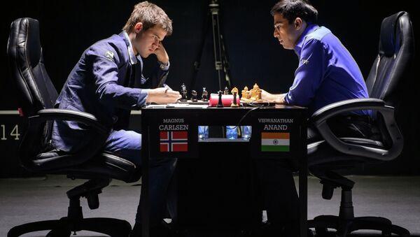 Шахматы. Матч за звание чемпиона мира. М.Карлсен - В.Ананд.