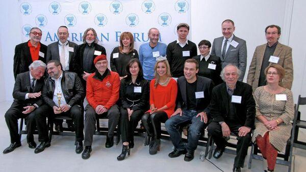 Участники конкурса Человек года русскоязычной Америки  2014