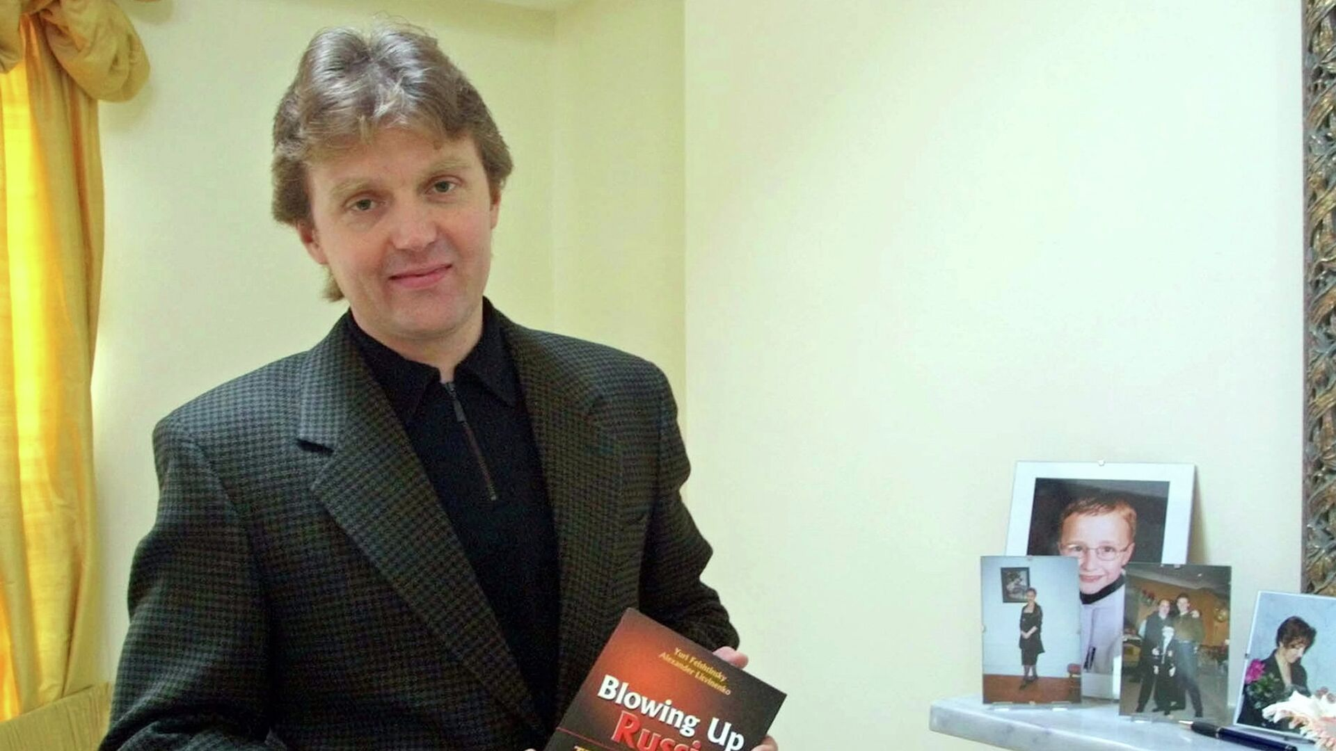 Экс-офицер ФСБ Александр Литвиненко - РИА Новости, 1920, 21.09.2021