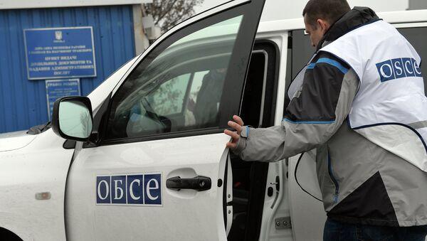 Представитель ОБСЕ. Архивное фото