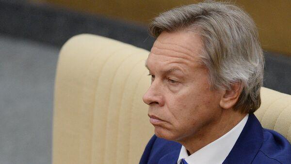 Председатель комитета ГД по международным делам Алексей Пушков